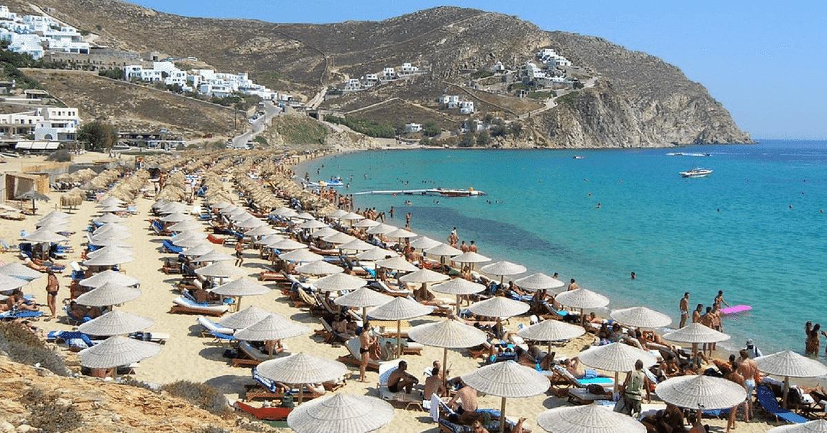 elia - mykonos beaches