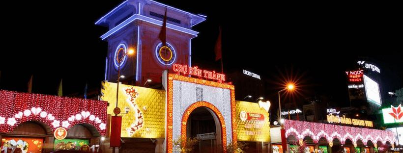 Ben Thanh Market in Vietnam