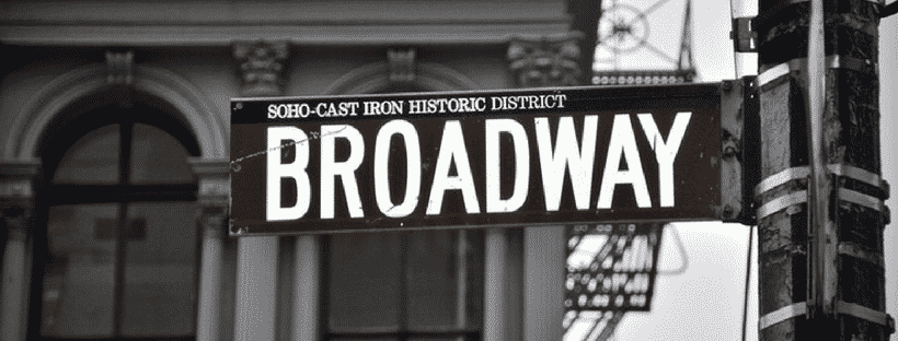 USA Travel - Broadway street sign