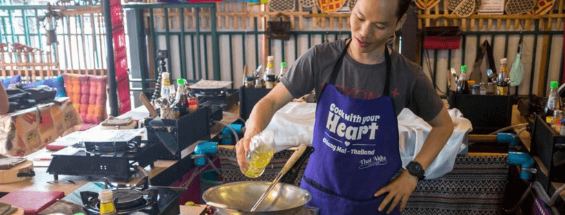 Take a cooking class in Chiang Mai!