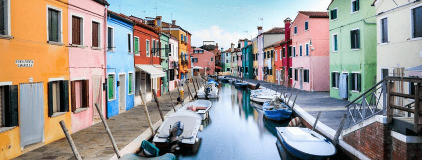 A canal, perfect for this Italy Travel Guide
