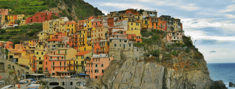You can't miss hiking the Cinque Terre in Italy