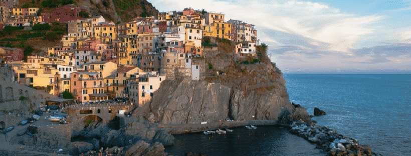 The Cinque Terre in Italy, Europe