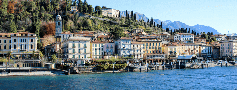 Visiting Lake Como is a must while you are in Italy!