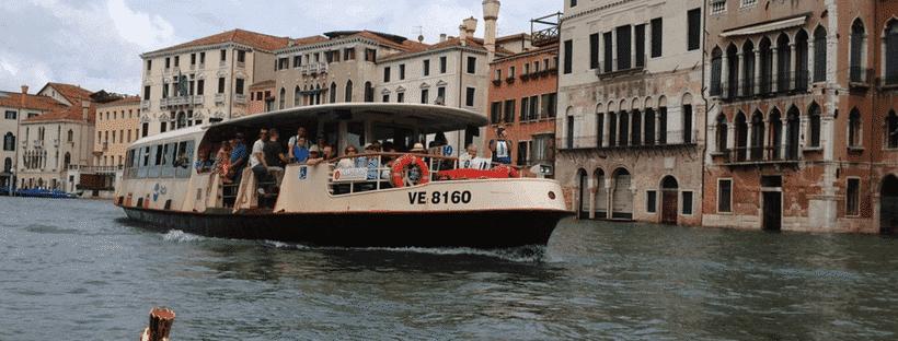 Vaporetto in Italy