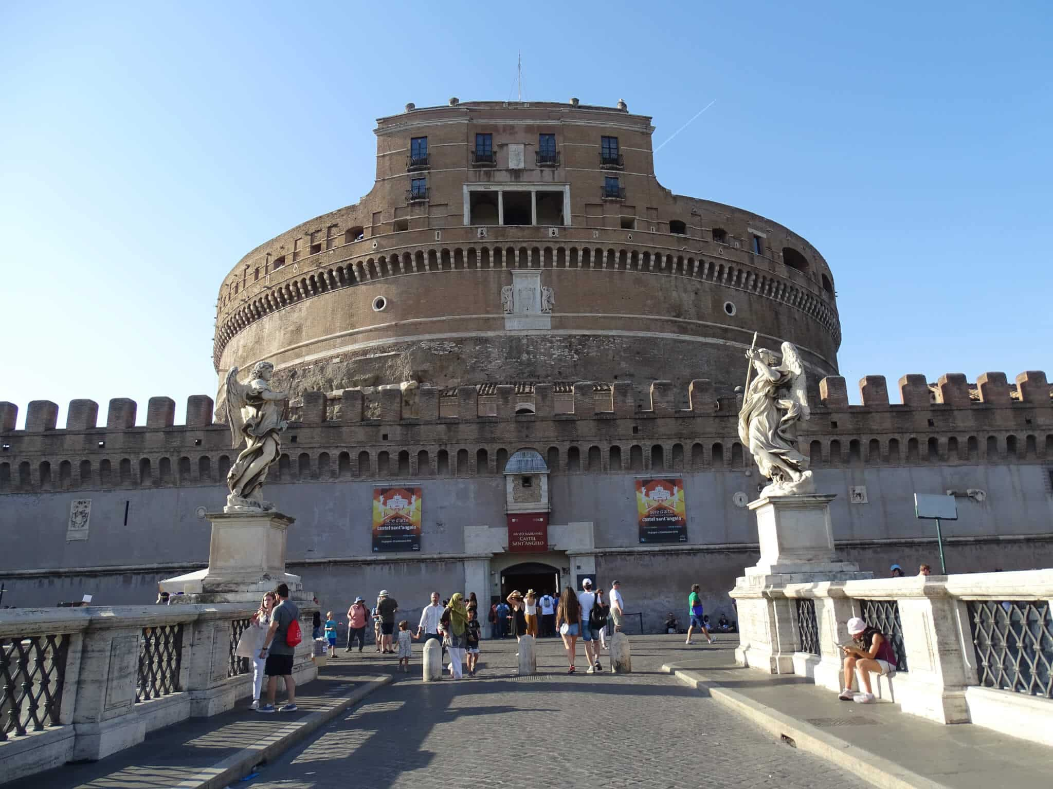 Castel San Angelo, one of the best things to do in Rome.