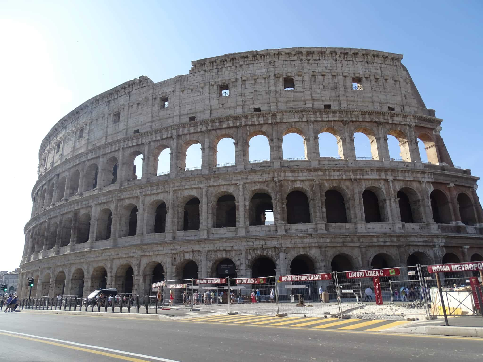 The Colosseum, a fun thing to do in Rome