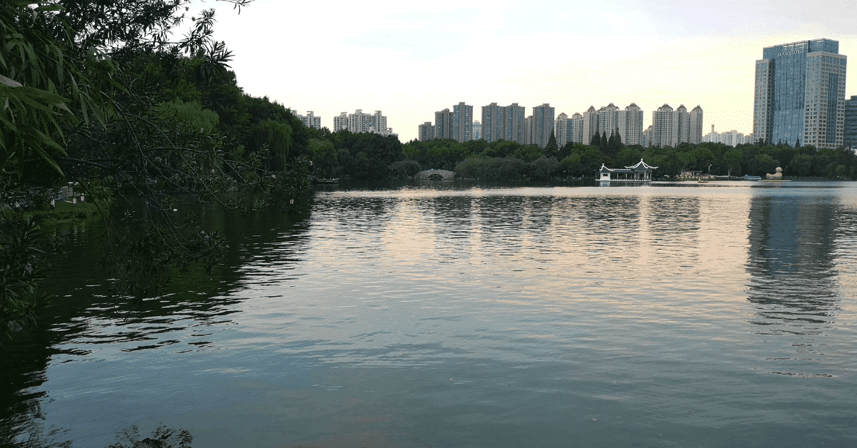 Parks are a fun thing to do in Shanghai