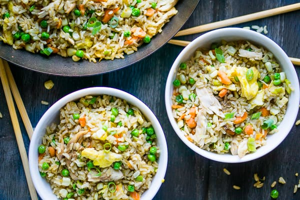 Rotisserie Chicken Fried Rice