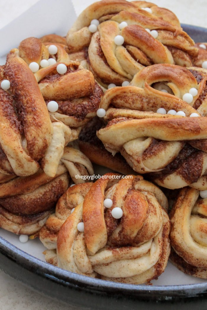 Cardamom buns are a great Swedish pastry!