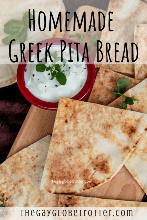Greek pita bread is best when homemade!