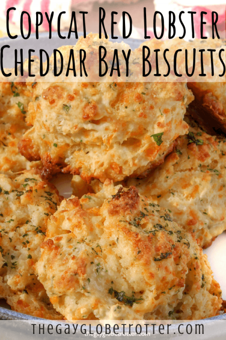 Cheddar bay biscuits from Red Lobster.