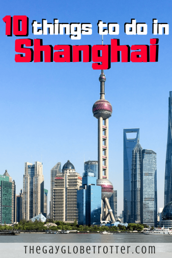 The best things to do in Shanghai!