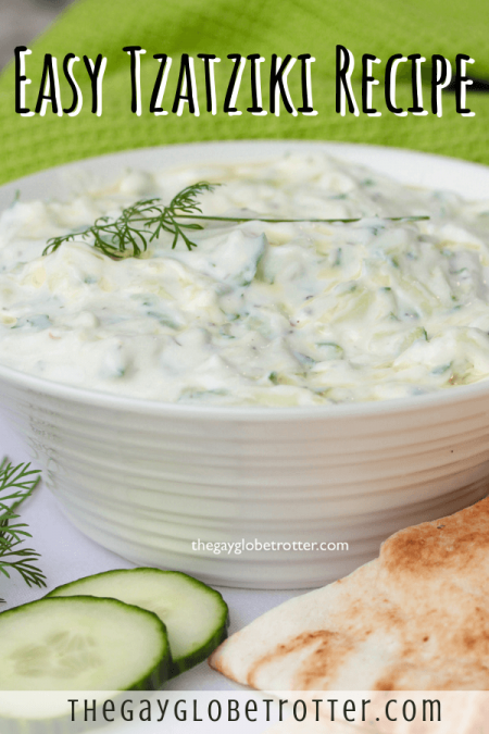 The easiest tzatziki sauce recipe ever!